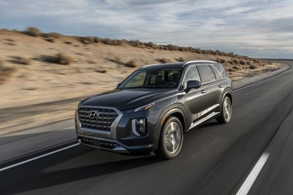 Đàn anh của Hyundai SantaFe đạt chỉ số an toàn 5 sao từ NHTSA