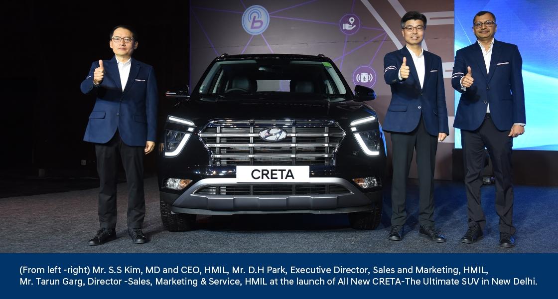 Hyundai CRETA - Chiếc SUV tối thượng